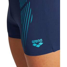 arena Streak Shorts Men, niebieski